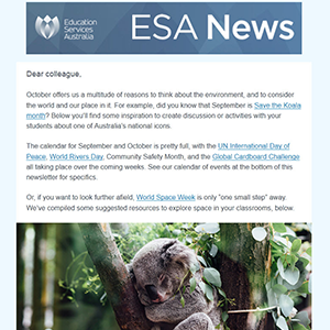 Subscribe to the ESA News